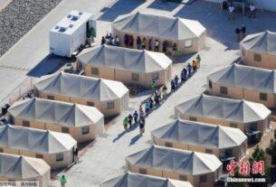 """拜登政府3月1日宣布,因美国前总统特朗普""""零容忍""""政策而分离的部分移民家庭,将被允许在美国团聚,其中一些家庭可能有机会留在美国。"""