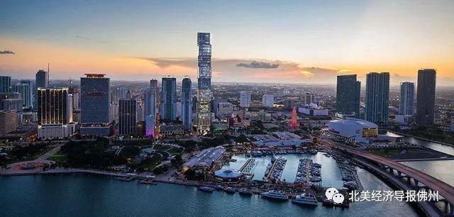 320米!佛罗里达州最高摩天楼设计方案公布