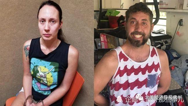佛州30岁女子遭到逮捕,其丈夫妨碍执法也被抓