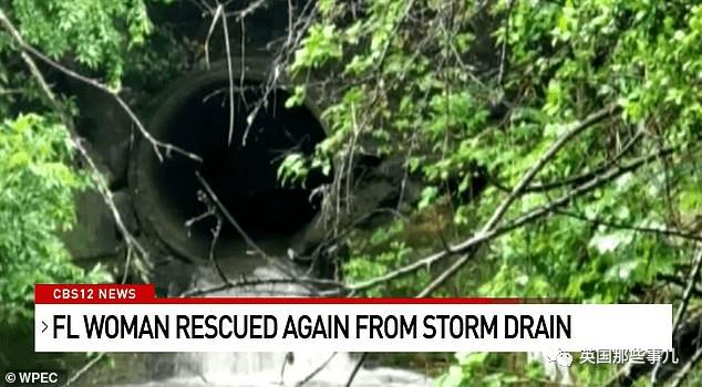 佛州女子在下水管呆了1周走21公里获救!但这还不是第一次?!