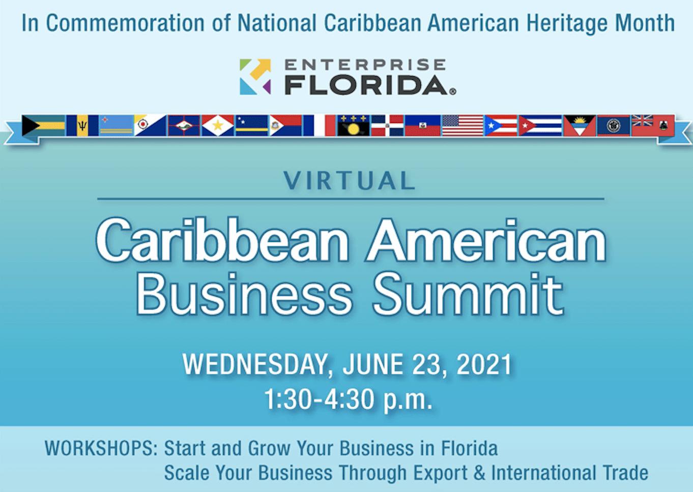 1, 6/22/2021  加勒比-美国商务论坛,感兴趣的报名参与
