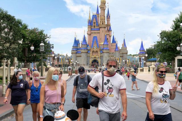 报告称,奥兰多迪士尼乐园因藏匿武器被捕的游客急剧增加