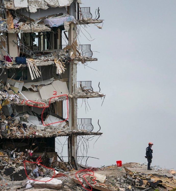 白宫:拜登将前往佛州公寓楼倒塌事故现场,并同遇难者家属会面
