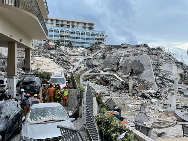 迈阿密住宅楼坍塌事故死亡人数升至4人