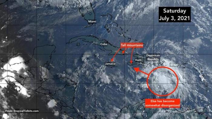 """热带风暴""""艾尔莎""""将于下周给佛州带来破坏性天气"""
