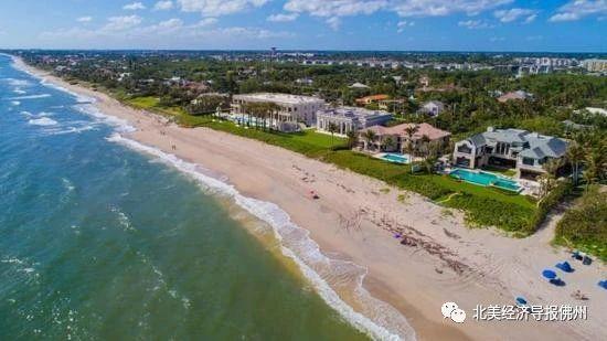 美国富人涌向佛州 棕榈滩豪宅几乎被抢空