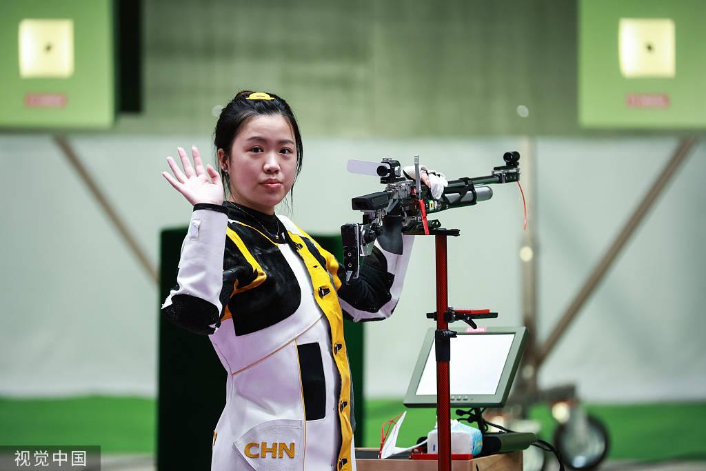 中国摘取东京奥运首金!女子十米气步枪杨倩夺冠