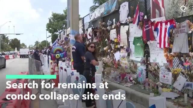 迈阿密坍塌大楼搜救工作正式结束