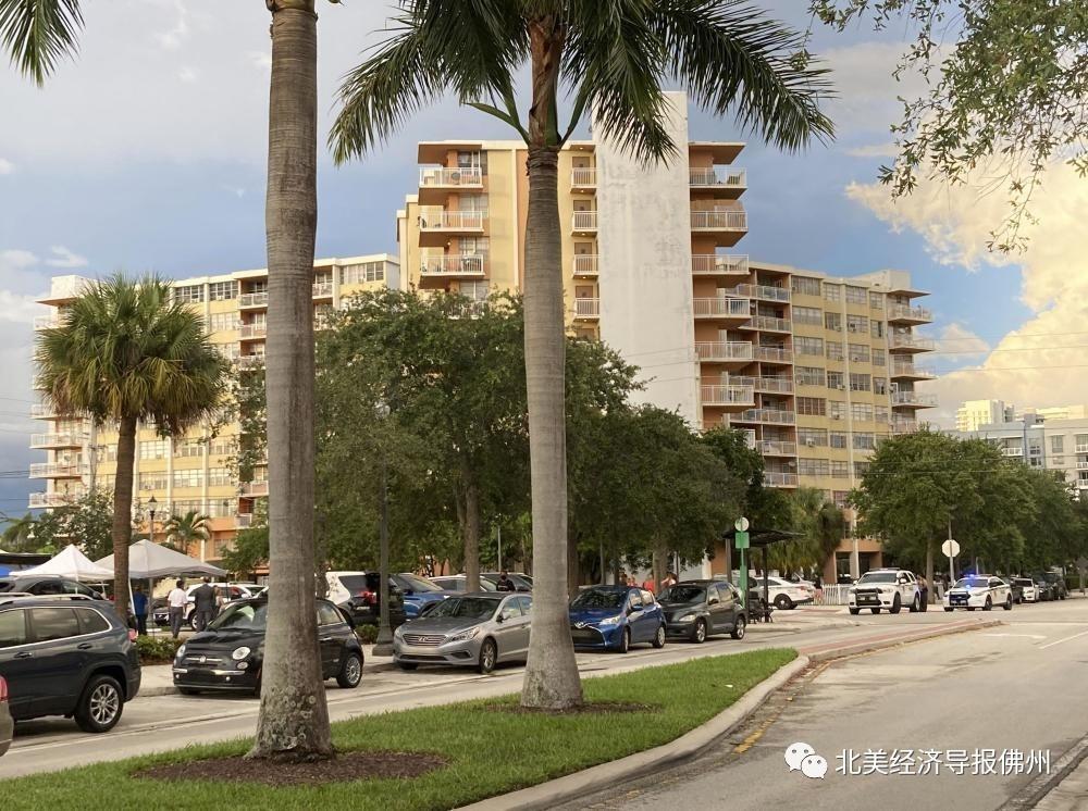 坍塌公寓楼附近又一大楼被曝不安全!迈阿密当地住户紧急疏散