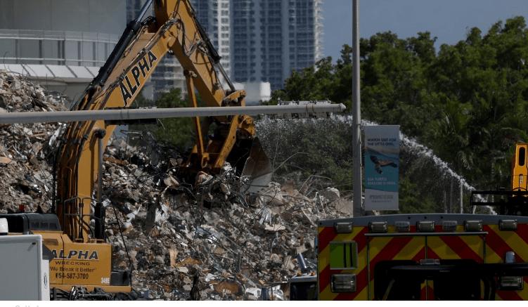 迈阿密公寓楼倒塌死亡人数升至97人