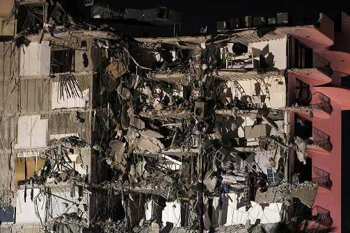工程师:迈阿密公寓大楼倒塌事故周围区域存在塌陷风险