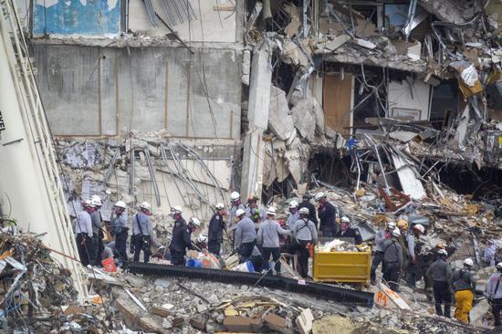 垮塌公寓部分失踪和遇难人员名单曝光