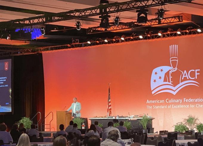 大迈阿密亚裔商务联盟祝贺美国烹饪联盟(ACF)峰会成功召开