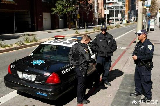 旧金山120名警察欲辞职反对强制打疫苗