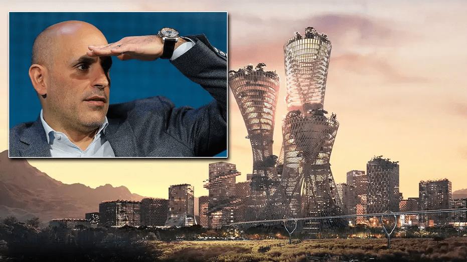 亿万富翁的乌托邦城市蓝图