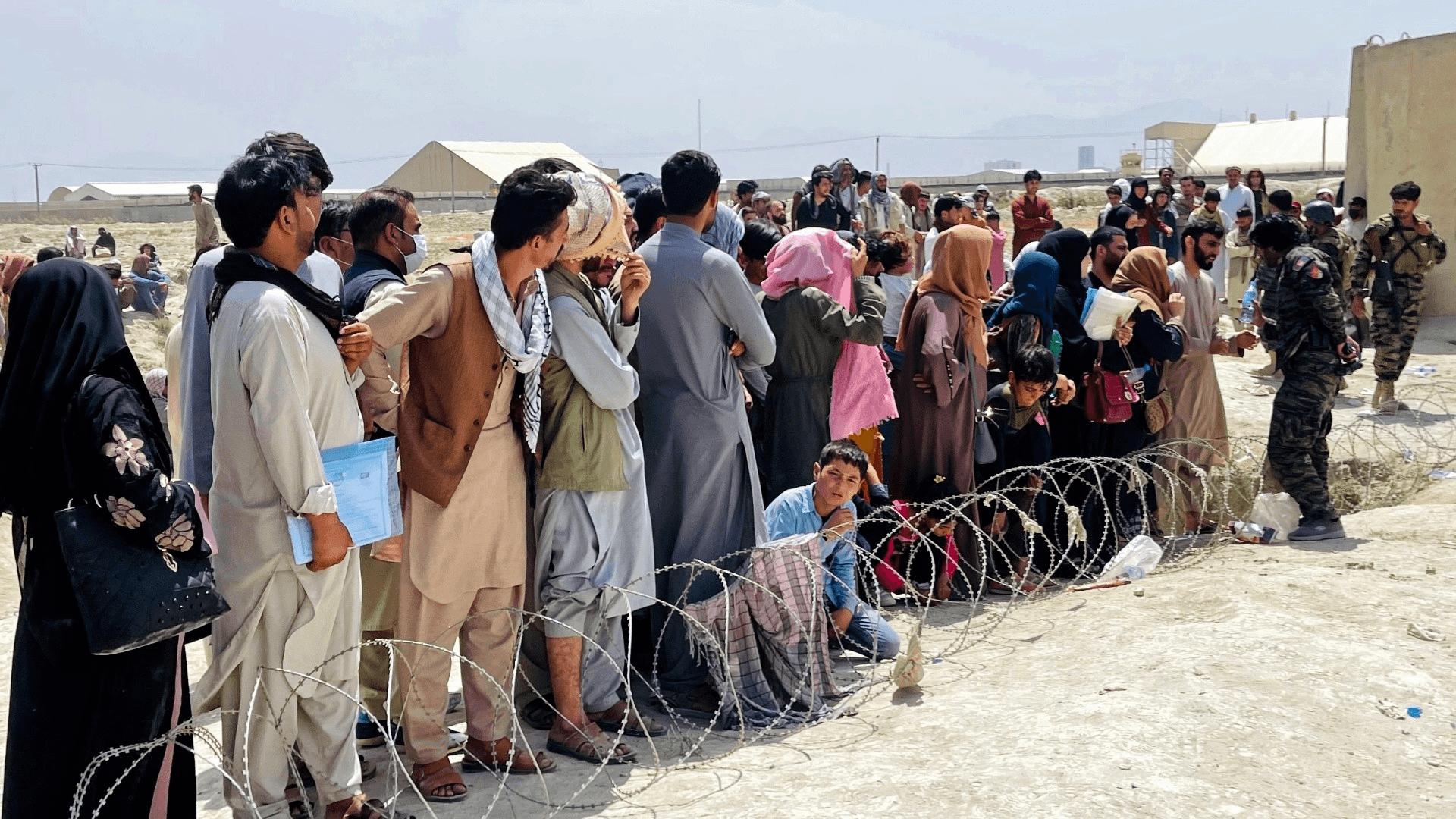 阿富汗难民在佛州安家